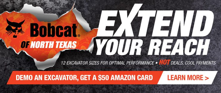 Extend Your Reach Excavator Campaign